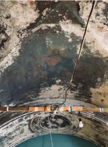 восстановление храма в Каймарах